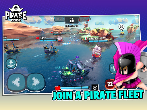 Pirate Code - PVP Battles at Sea apktram screenshots 7