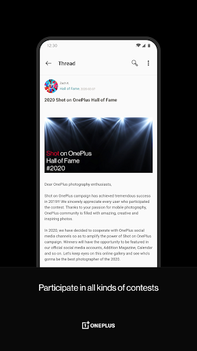 OnePlus Community 3.4.6.2.201209165230.735b442 Screenshots 4