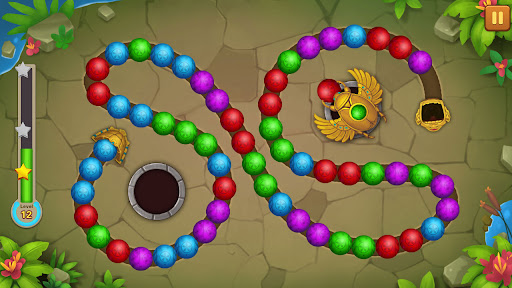 Jungle Marble Blast Lite screenshots 13