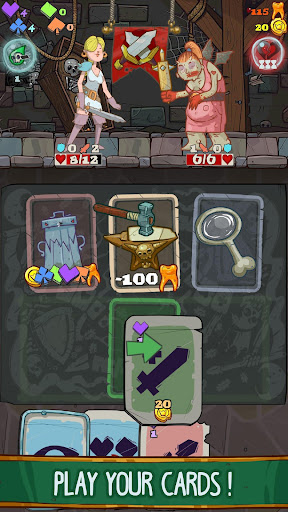 Dungeon Faster - Card Strategy Game  screenshots 3