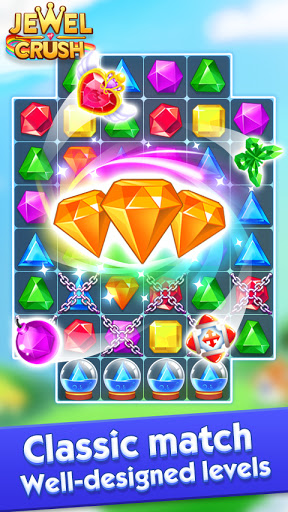 Jewel Crush™ - Jewels & Gems Match 3 Legend  screenshots 1