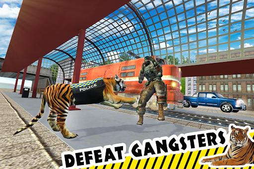 Police Tiger Chase Simulator: City Crime Apkfinish screenshots 14
