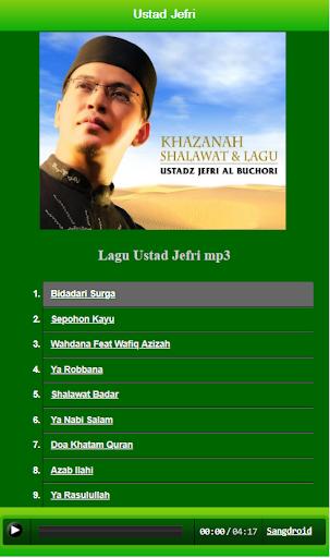 kumpulan lagu ustad jefri screenshot 2