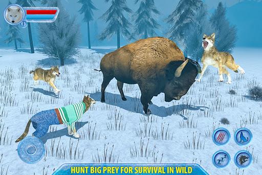 Arctic Wolf Sim 3D  screenshots 14