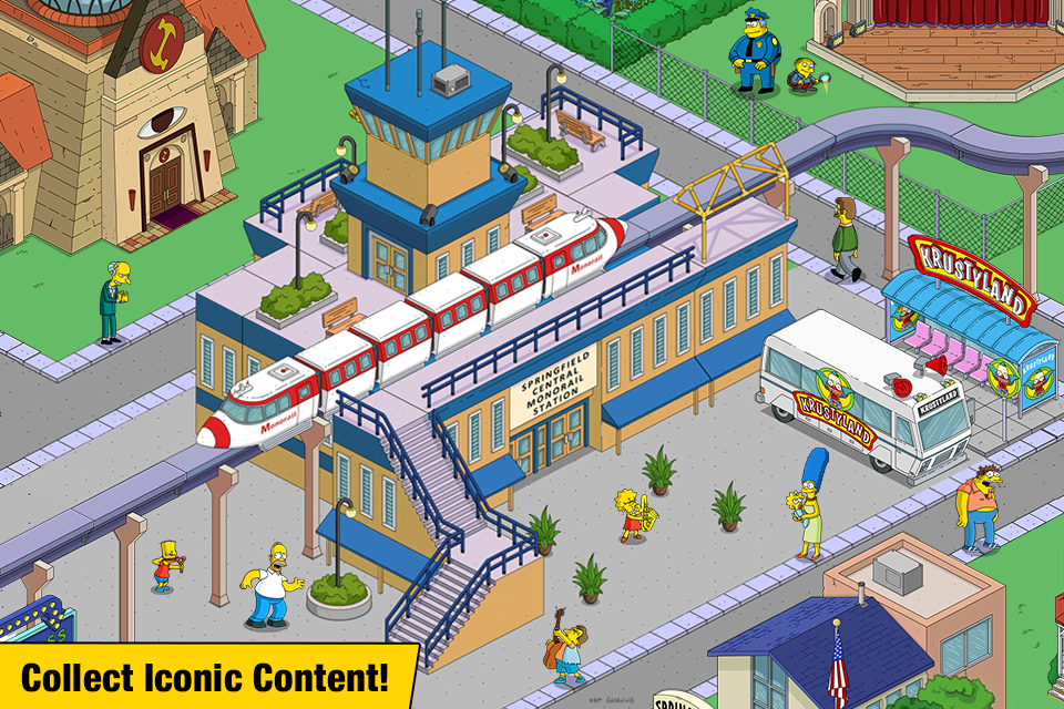 The Simpsons™: Tapped Out  poster 2