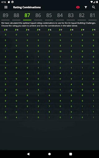 FUTBIN 21 Database & Draft apktram screenshots 4