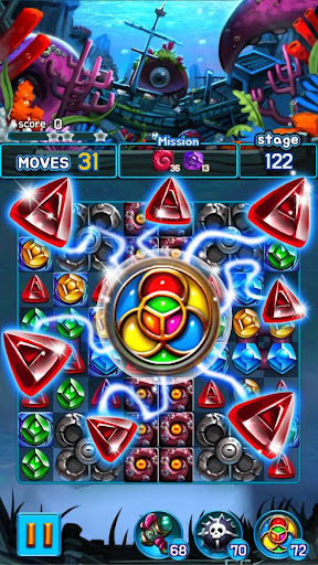 Jewel Kraken: Match 3 Jewel Blast 1.9.1 screenshots 4
