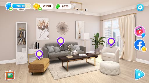 Color Home Design Makeover - paint your love story  screenshots 1