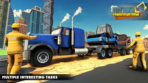 Mega City Road Construction Machine Operator Game 3.9 screenshots 4