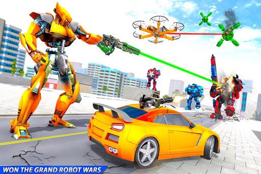 Drone Robot Car Transforming Gameu2013 Car Robot Games 1.1 Screenshots 1