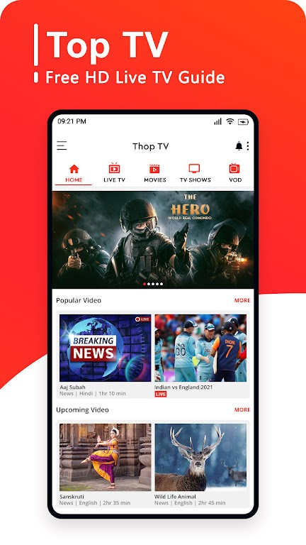 Top TV Guide - Free Live Cricket TV 2021 poster 0