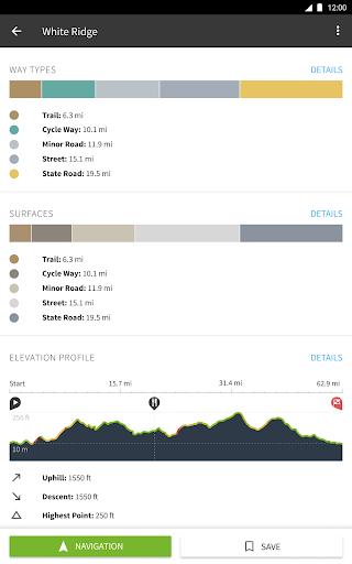 Komoot u2014 Cycling, Hiking & Mountain Biking Maps 10.21.15 Screenshots 16