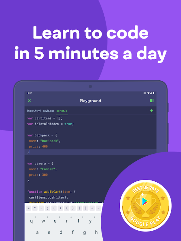 Mimo: Learn coding in HTML, JavaScript, Python poster 8
