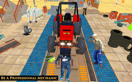 Télécharger Gratuit Tractor Mechanic Simulator 19  APK MOD (Astuce) screenshots 1
