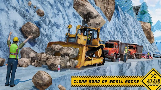 Snow Offroad Construction Excavator 3