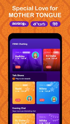 FRND - Audio Social Media App screenshots 4