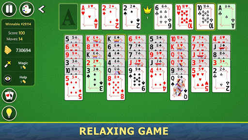 FreeCell Solitaire Mobile 2.0.7 screenshots 12