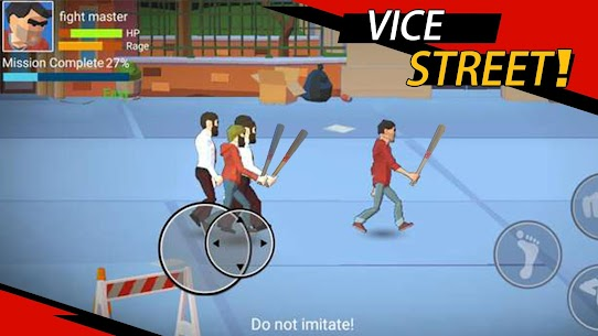 Vice Street: fighting master MOD (Unlimited Money) 1