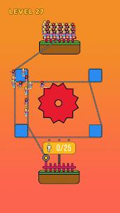 Rope Rescue! – Unique Puzzle Mod Apk 1.0.6 1