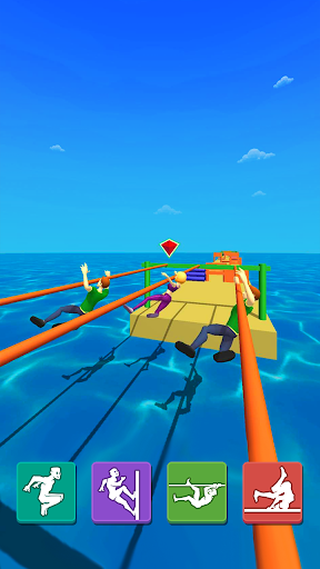 Parkour Race: Epic Run 3D screenshots 2