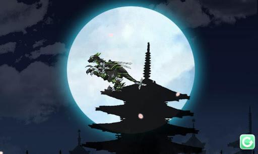 Ninja Velociraptor-Combine!Dino Robot:DinosaurGame 2.0.1 screenshots 4