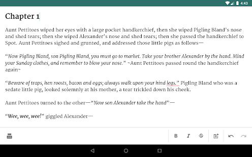 JotterPad - Writer, Screenplay, Novel 13.0.11B-pi Screenshots 16