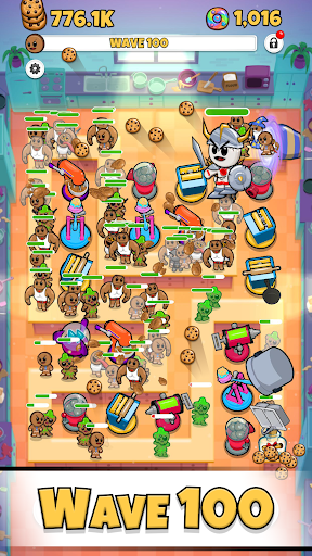 Cookies TD - Idle TD Endless Idle Tower Defense screenshots 2