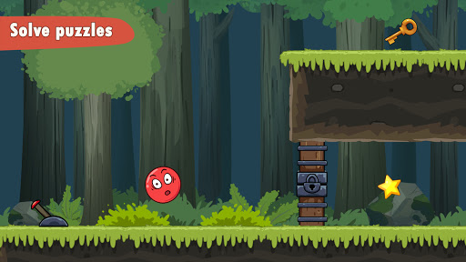 Bounce Ball 7 : Red Bounce Ball Adventure 1.3 screenshots 2