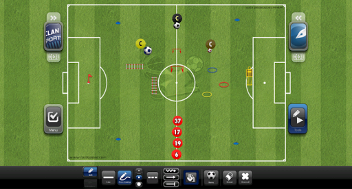 TacticalPad: Coach's Whiteboard, Sessions & Drills  Screenshots 22