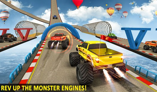 Ramp Monster Truck Stunts:New Racing Games Screenshot