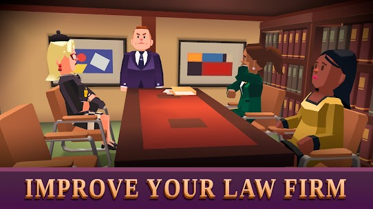 Law Empire Tycoon – Idle Game Justice Simulator Mod Apk 1.9.3 (Unlimited Money) 2