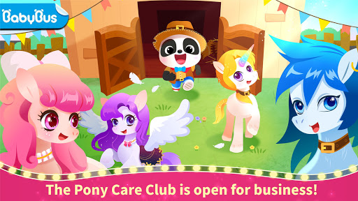 Little Panda: Pony Care Club apklade screenshots 1
