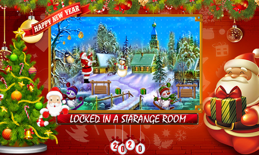 Free New Escape Games 41-Winter Secret Room Escape v2.1.0 screenshots 1