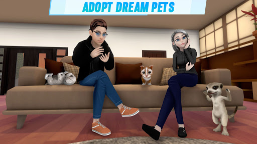 Virtual Sim Story: 3D Dream Home & Life screenshots 14