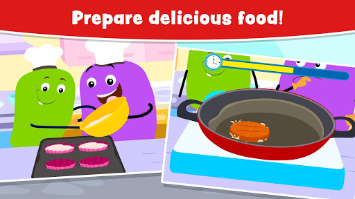 Cooking Games for Kids and Toddlers - Free 2.1 screenshots 3