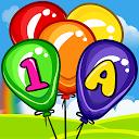 Balloon Pop Kids games for preschool toddlers 2 yr