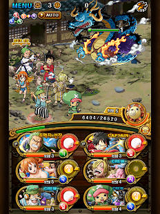 Mod Game ONE PIECE TREASURE CRUISE KR for Android