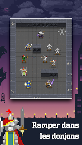 Code Triche Dunidle - Idle RPG Pixel Heroes Dungeon Crawler  APK MOD (Astuce) screenshots 1