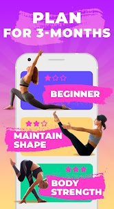 Pilates workout routine-Fitness exercises at home 2.5.0 Apk 2