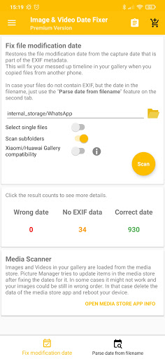 Image and Video Date Fixer screenshots 2
