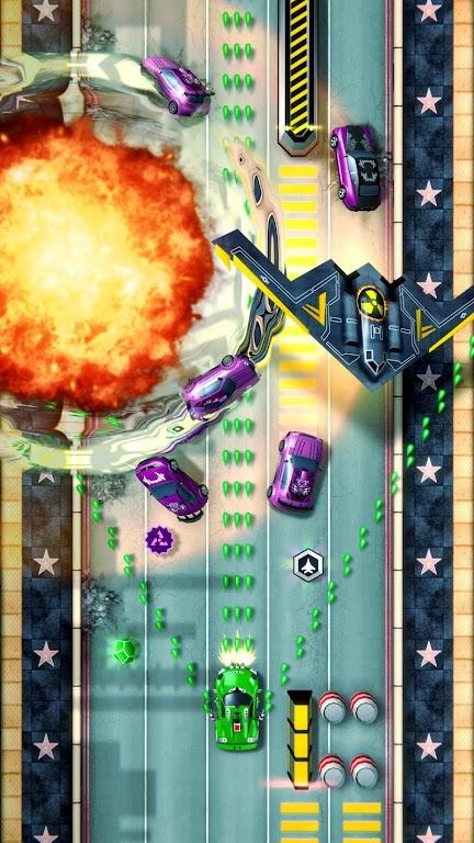 Chaos Road: Combat Racing poster 1