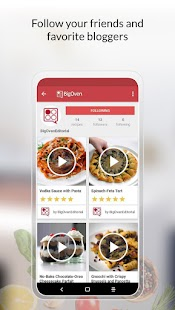 BigOven: 1 Million+ Recipes and Meal Planner Screenshot