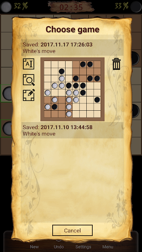 ugolki - checkers - dama screenshot 2