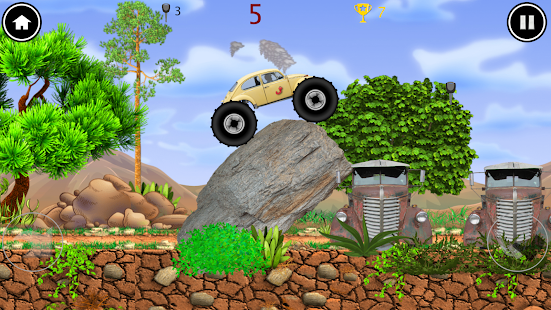 Monster Truck: the worm Screenshot