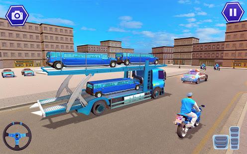 Police Plane Transport: Cruise Transport Games 1.12 Screenshots 6