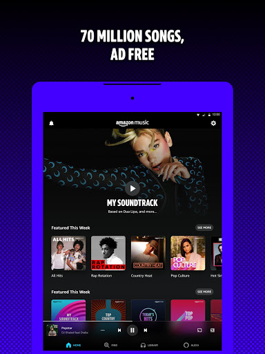 Amazon Music: Stream and Discover Songs & Podcasts Apkfinish screenshots 7