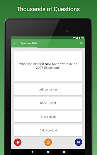 Sports Fan Quiz - NFL, NBA, MLB, NHL, FIFA, +