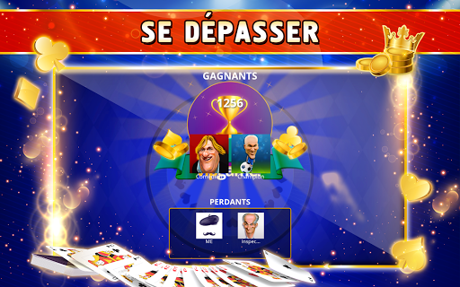 Coinche Offline - Single Player Card Game  screenshots 10