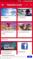 screenshot of Telemundo Laredo