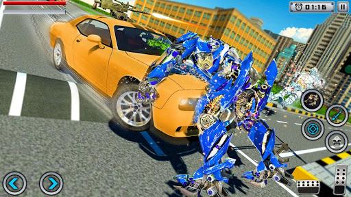 Tiger Robot Transforming Games : Robot Car Games 1.0.9 Screenshots 10